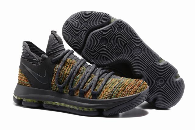 Nike KD 10 Shoes Grey Colors